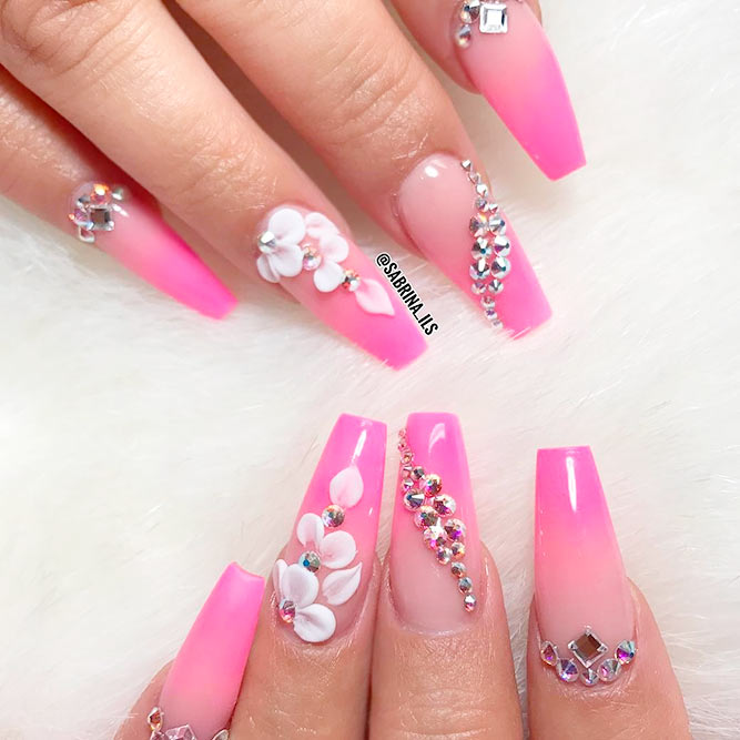 Cute Pink Nails for Elegant Women picture 2