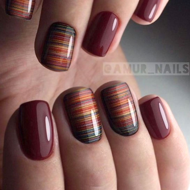 Shrink Films For Dark Nails #roundnails