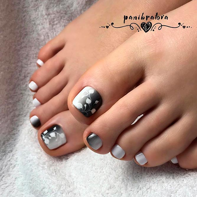 The Play Of Light And Shadow For Your Pedicure picture 3