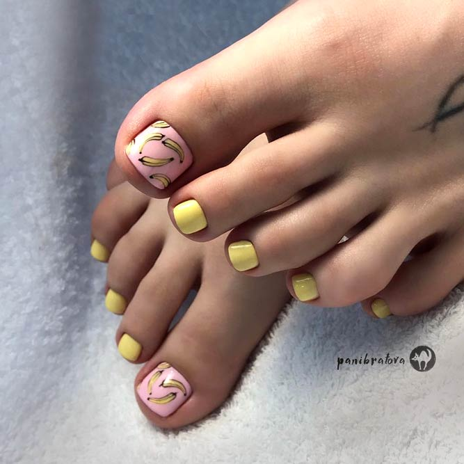 Tropical Nail Art designs for Toes picture 1