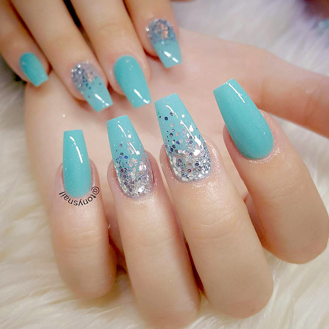 Lovely Blue Shades for Your Gel Nails picture 2
