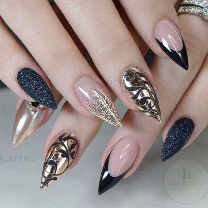 Eye-catching Designs for Gel Nails picture 2