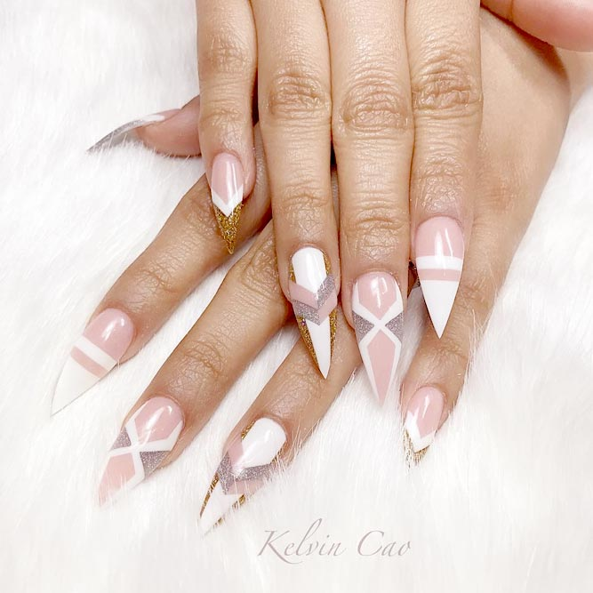 Trendy Nude Gel Nails picture 3