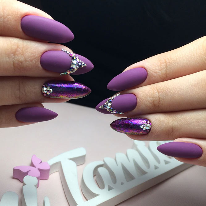 Charming Purple Nail Designs picture 1
