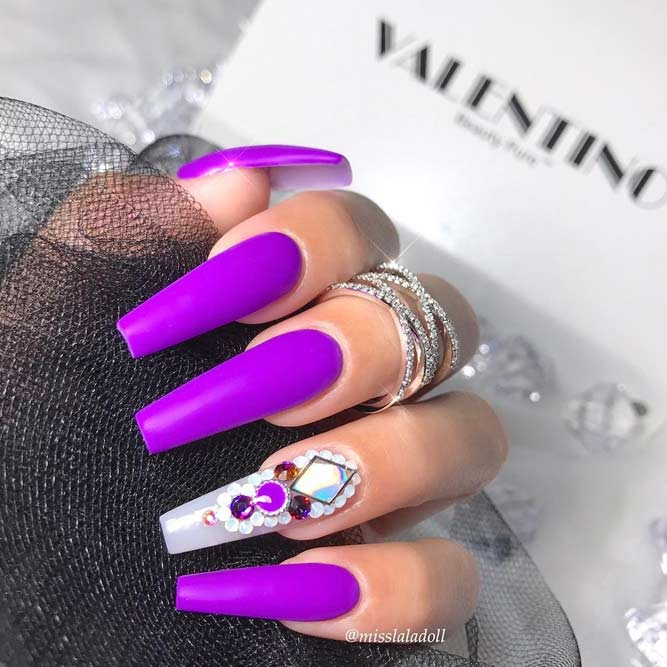 Charming Purple Nail Designs picture 2
