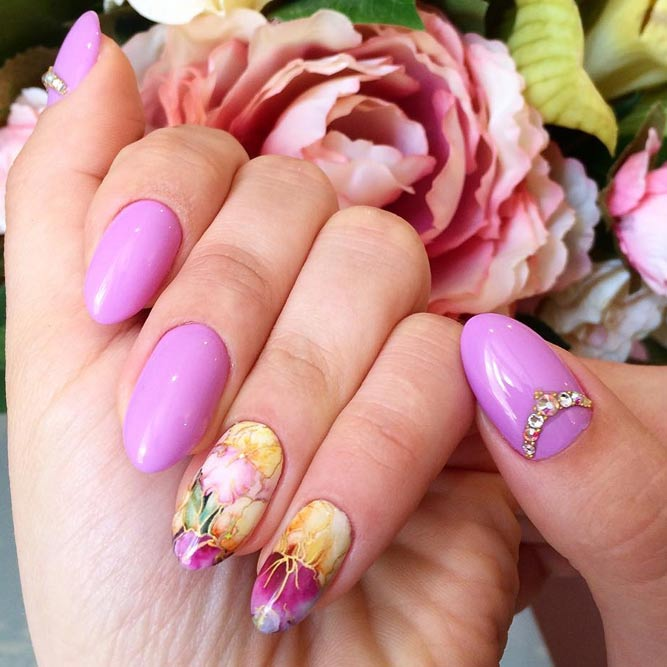 Charming Purple Nail Designs picture 3