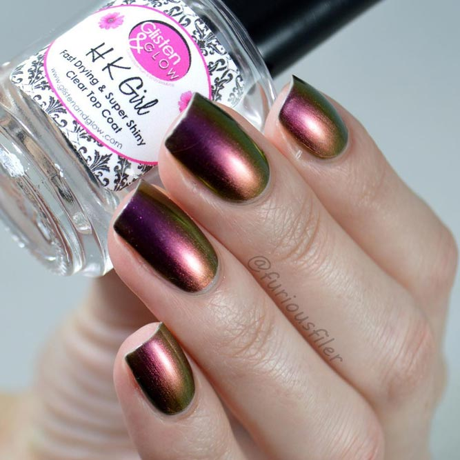 Best Nail Polish Colors with Metallic Shades picture 1