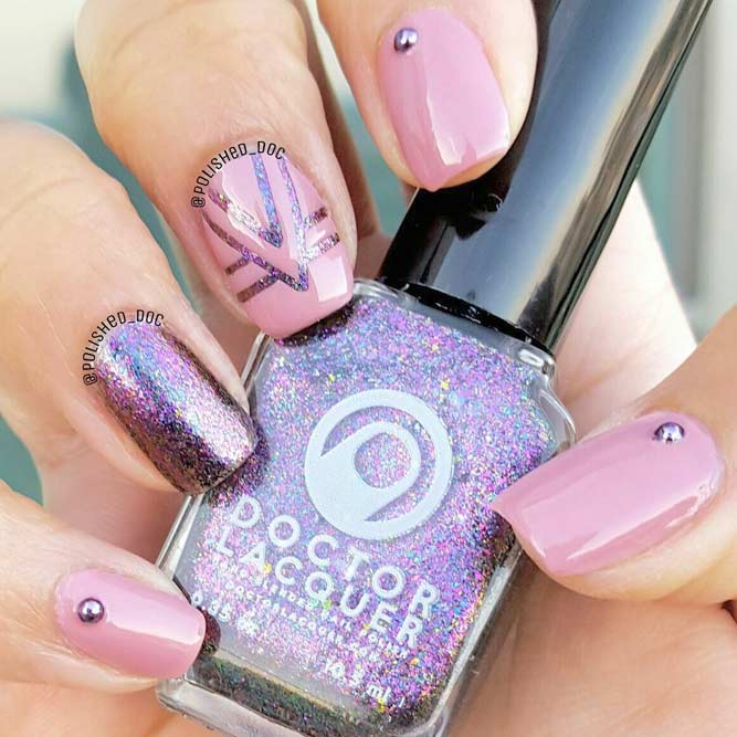 Feminine Pink Nail Polish for Summer picture 1