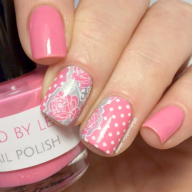 Feminine Pink Nail Polish for Summer picture 3