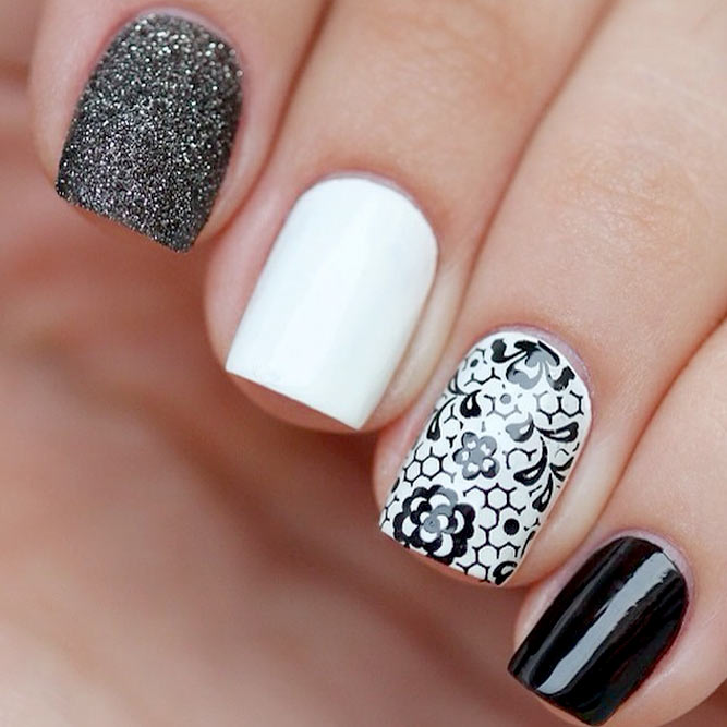 Trendy White Nail Polish Designs picture 2