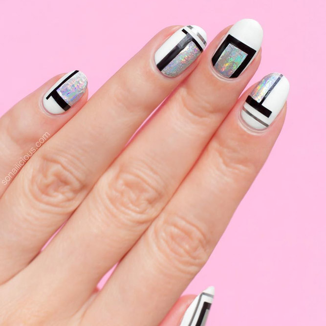 Nail Polish Designs With 3 Colors Hession Hairdressing