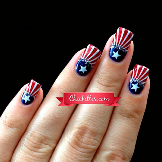 Trendy and cool nail designs naildesignsjournal stripes galore prinsesfo Choice Image