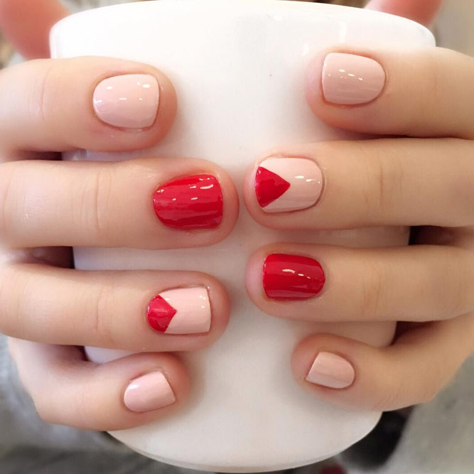 Stylish Geometric Nails Ideas picture 1
