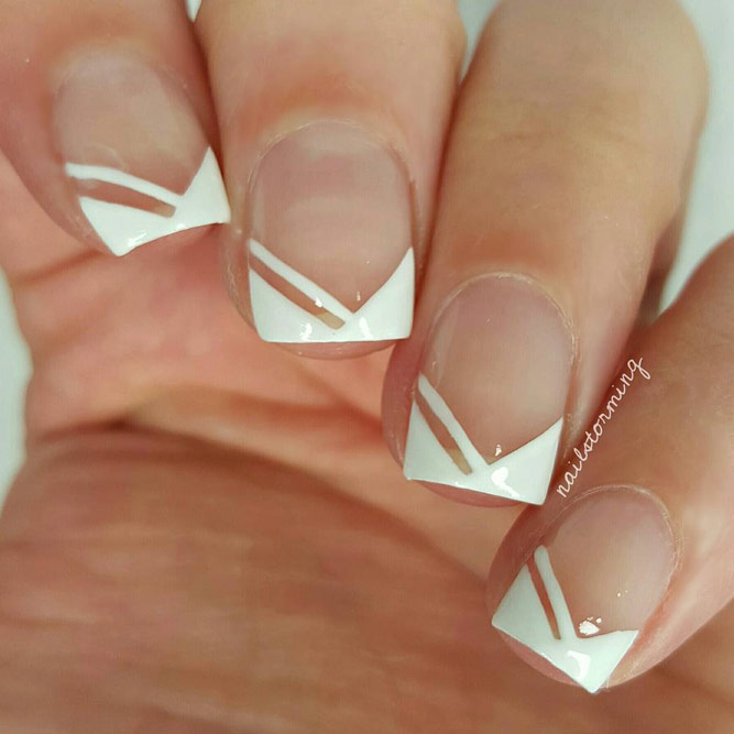 Bright Designs for Short French Manicure picture 2