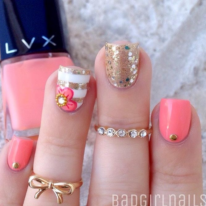 Delightful Short Nail Designs picture 3