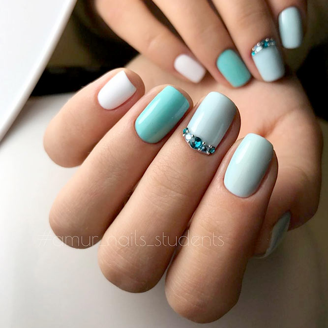Amazing Short Nail Mani picture 2