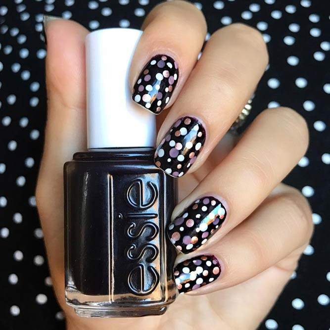 Stylish Ideas for Dotted Manicure picture 2