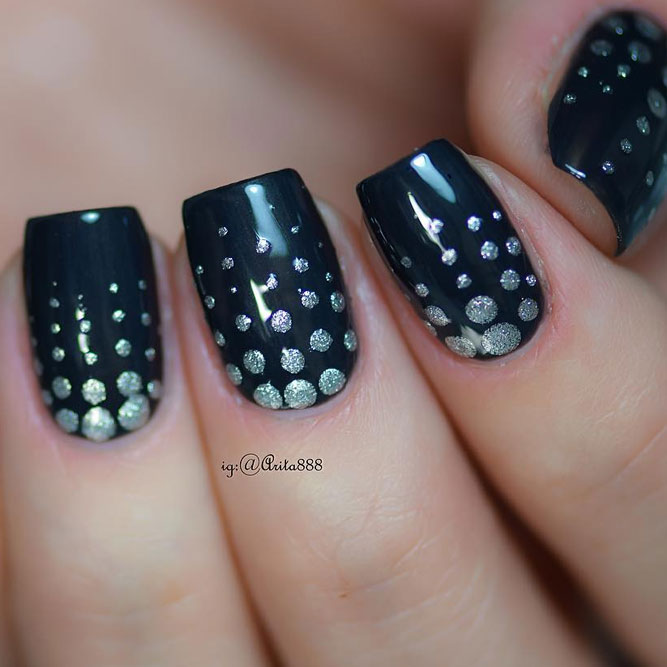 Wonderful Dotted Nail Designs picture 3