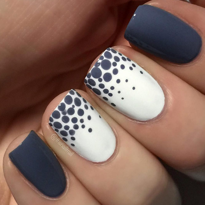 Nail Tips with Cute Dots picture 1