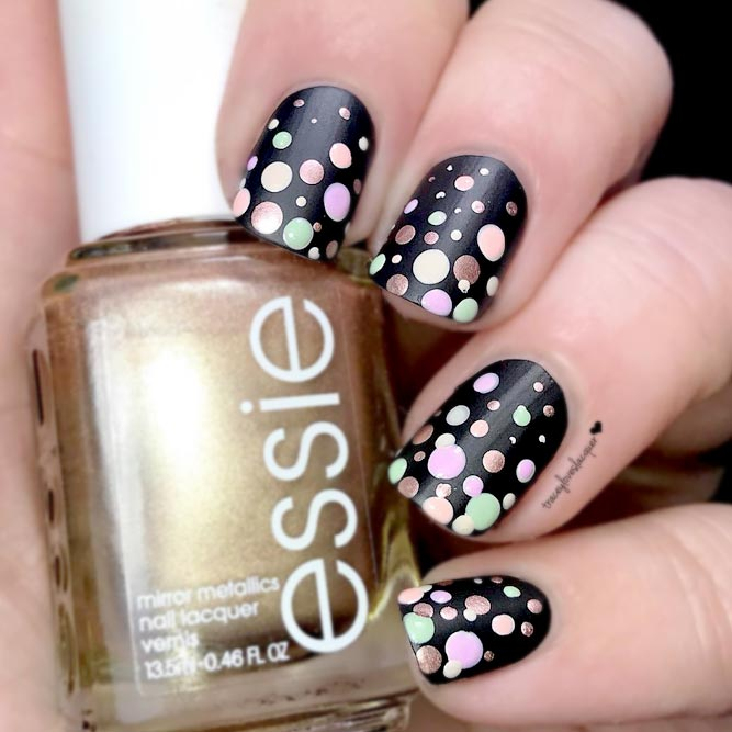Wonderful Dotted Nail Designs picture 1