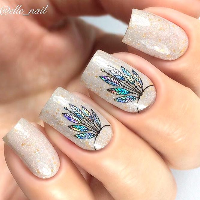 Nude Nail Designs for Long Nails picture 1