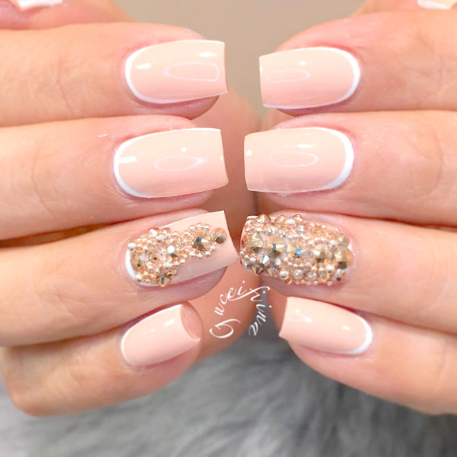 Elegant Reverse French Manicures picture 1