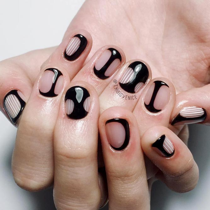 The Coolest Ideas with Negative Space Nails picture 2