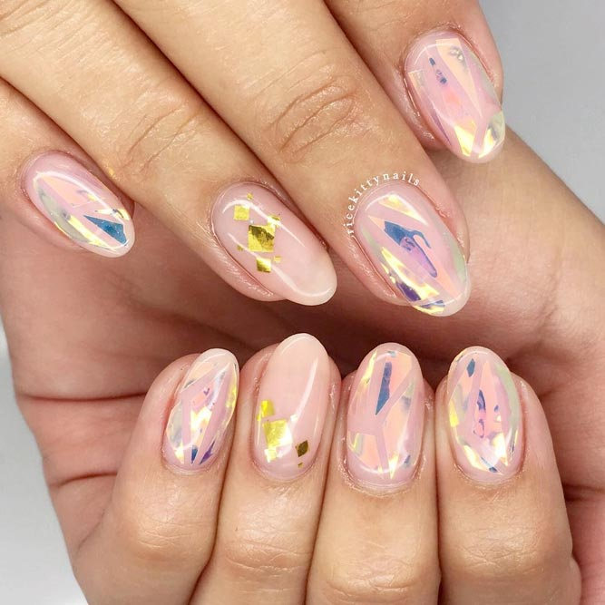 Stunning Round Nails Art picture 1