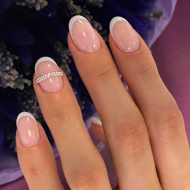 Classical French Nail Designs picture 3