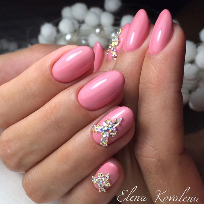 New Designs For Round Nails | NailDesignsJournal.com