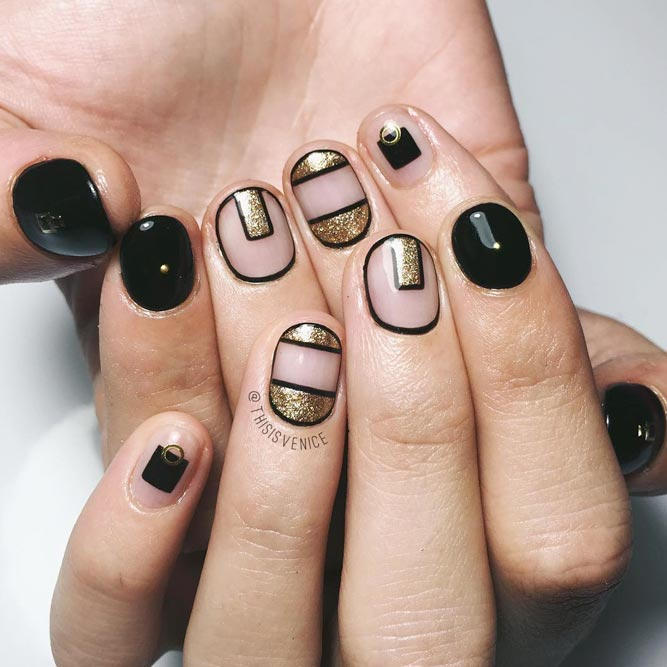 The Coolest Ideas with Negative Space Nails picture 1