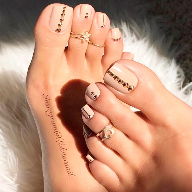Beautiful Toe Nail Art Ideas picture 1