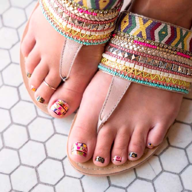 Toe Nail Designs for This Summer picture 2