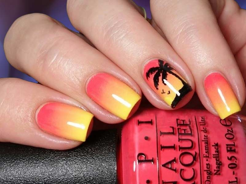 Totally Hip Ideas for Summer Nails