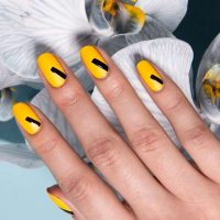 yellow nails for the hottest summer  naildesignsjournal