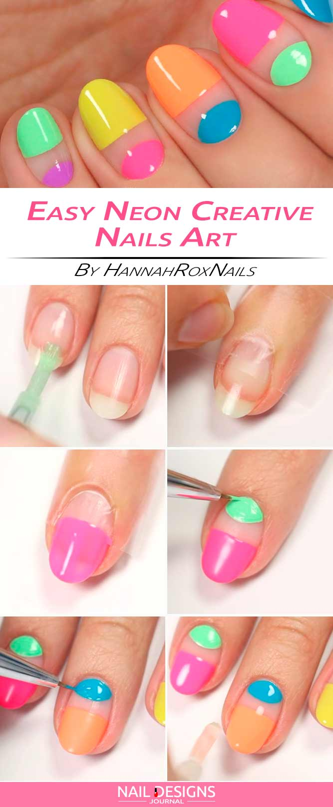 Easy And Creative Nail Design To Try | NailDesignsJournal.com