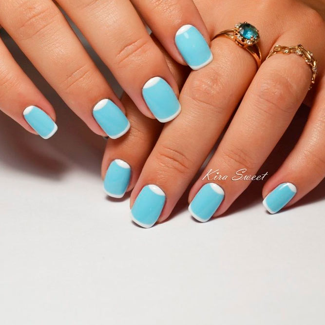 Hot Nail Designs: 21 Hot Nail Designs For Short Nails