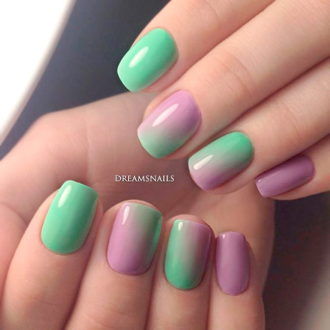 Simple Ombre Nails picture 1