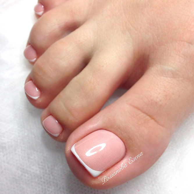 French Toe Nails picture 2