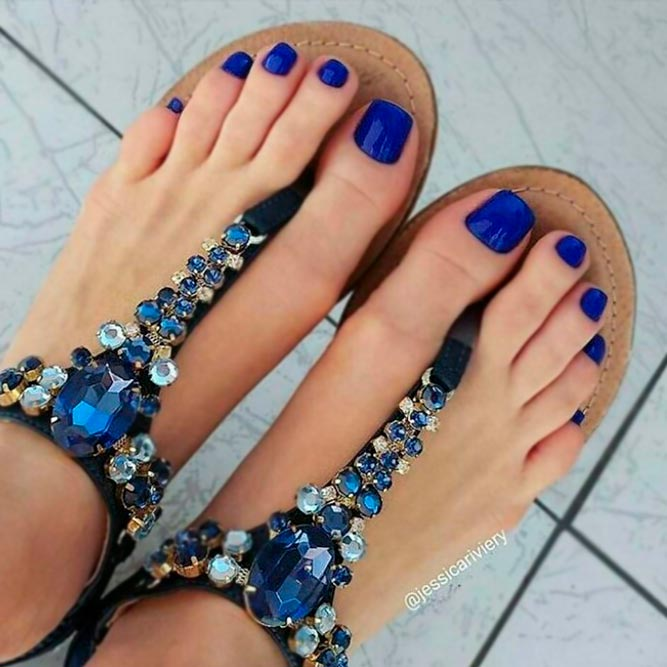 Adorable Toe Nails Art picture 3