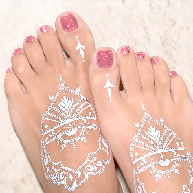 Easy Toe Nail Designs picture 2