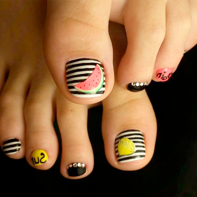 Toe Nail Designs for Summer picture 3