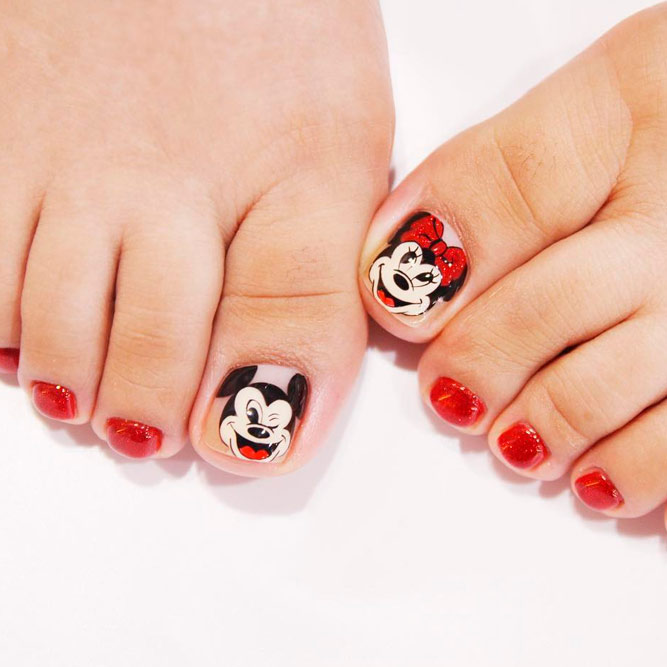 Funny Cartoon Nail Art Designs picture 3