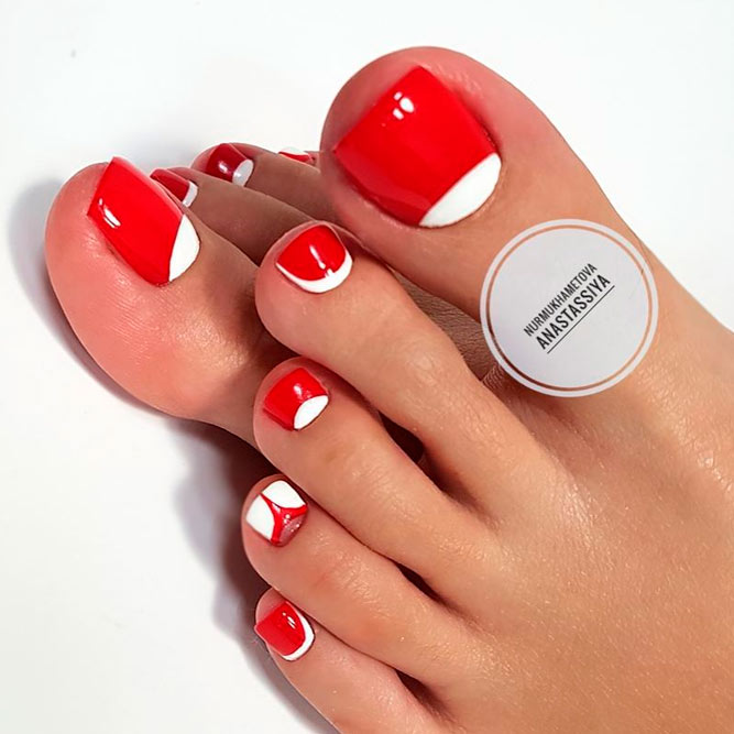 Elegant Nail Designs for Toes picture 2
