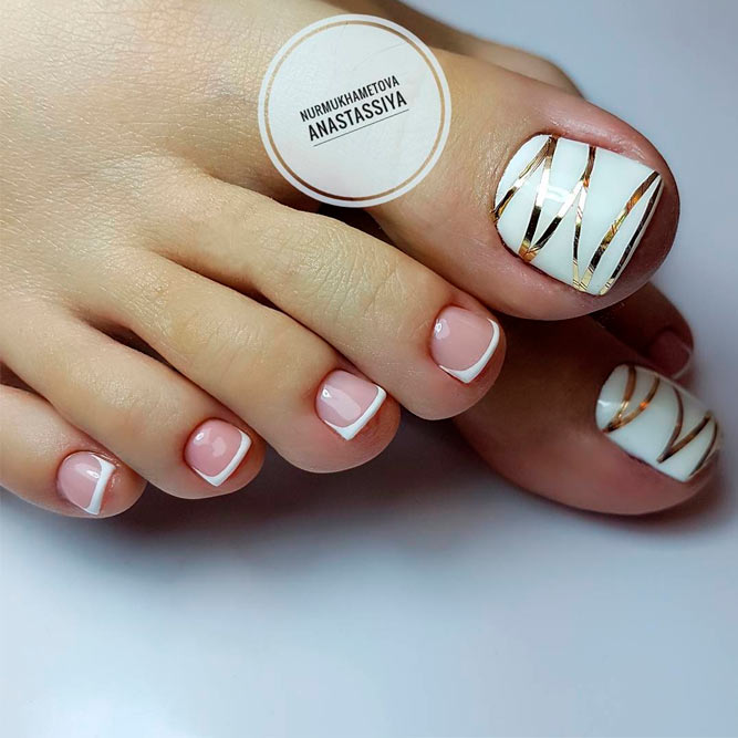 French Toe Nails picture 3