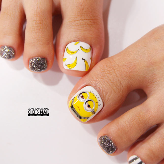 Funny Cartoon Nail Art Designs picture 1