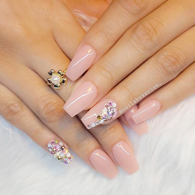 Starling Nude Pink Nail Designs You Will Love picture 2