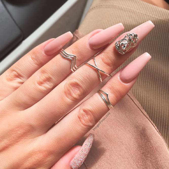 Starling Nude Pink Nail Designs You Will Love picture 1