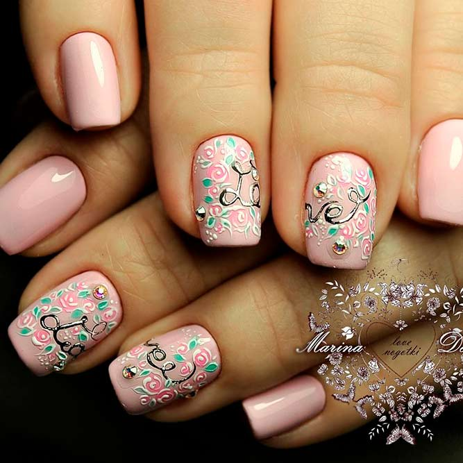 Trendy Hand Painted Nail Designs picture 3