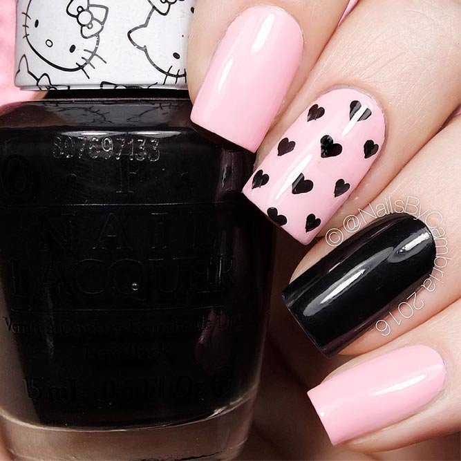 Lovely Nude Pink Nails Designs picture 1